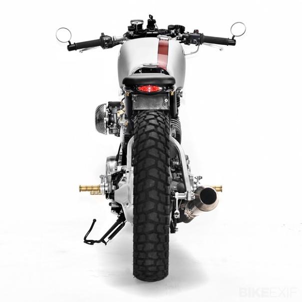 Yamaha Virago Erick Runyon Trasera